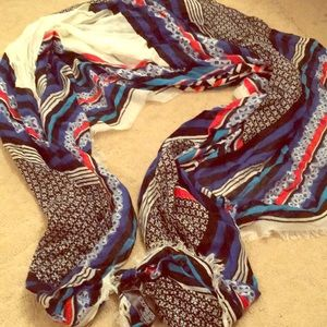 The 7 seas blue scarf/wrap